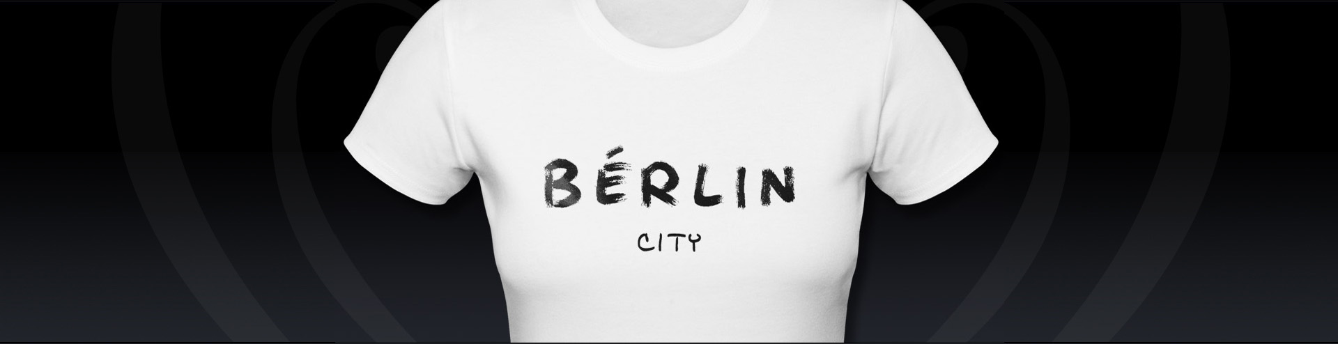 T-shirt Druck Stuttgart Motiv Berlin
