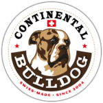 Continental Bulldog Sticker, Aufkleber