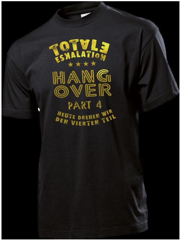 JGA Junggesellenabschied Shirt - Totale Eskalation, Hangover Teil 4